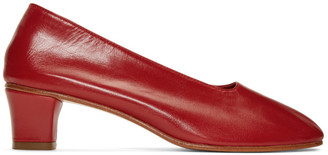 Martiniano Red High Glove Heels