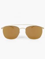 Mykita X Maison Martin Margiela Gold MMESSE 007 Sunglasses