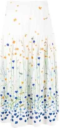 Markus Lupfer Drew Underwater Garden skirt