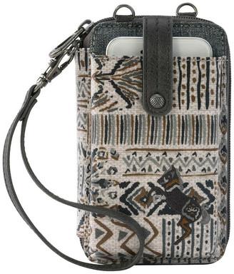 The Sak 107182 Artist Circle Convertible Smartphone wallet