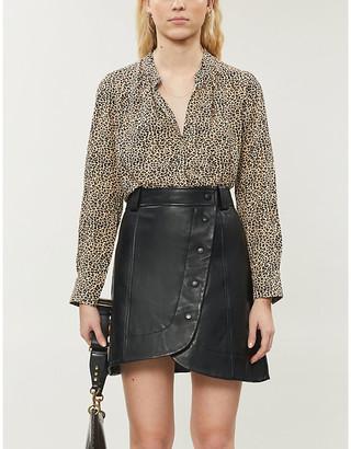 Zadig & Voltaire Tink Leo leopard-print blouse