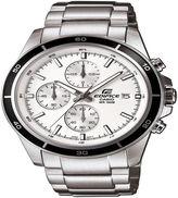 Casio Mens Silver Tone Bracelet Watch-Efr-526d-7av