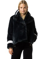 Tommy Hilfiger Collection Faux Fur Peacoat