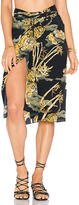 Lenny Niemeyer Knot Sarong in Black. - size M (also in S)