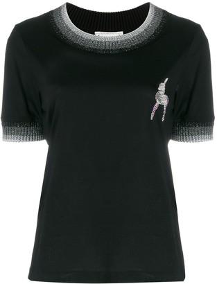 Marco De Vincenzo deer embellished T-shirt