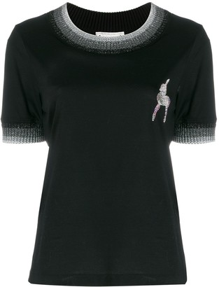 Marco De Vincenzo deer embellished T-shirt