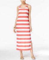 MICHAEL Michael Kors Striped Maxi Dress