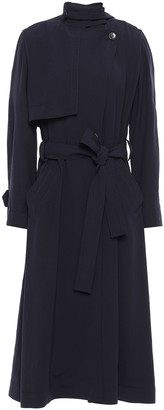 Vince Belted Twill Trench Coat