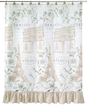 Avanti Paris Botanique Shower Curtain Bedding