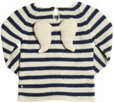 Oeuf Angel Striped Baby Alpaca Tricot Sweater