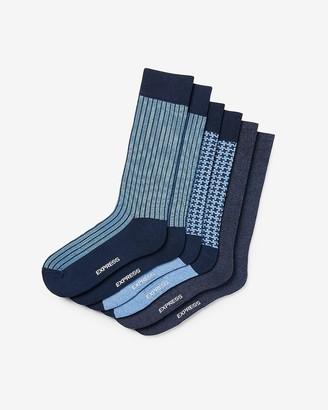 Express 3 Pack Houndstooth Dress Socks