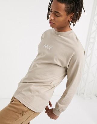 Parlez Sven long sleeved top in beige