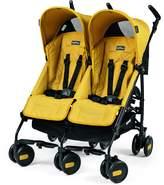 Peg Perego Pliko Mini Twin Baby Stroller, Mod Yelow by