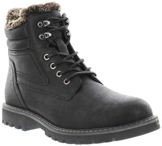 GBX Zach Faux Fur Lace-Up Boot