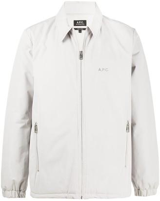 A.P.C. Zipped Lightweight Jacket