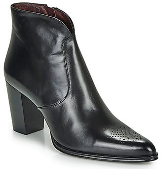 Muratti READFIELD women's Low Ankle Boots in Black