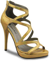 Michael Antonio Women's Riot Platform Sandal -Gold Metallic