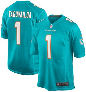 Nike Men's Tua Tagovailoa Aqua Miami Dolphins 2020 NFL Draft First Round Pick Game Jersey