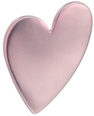 Robert Lee Morris Heart Pin (Pink Patina) Brooches Pins
