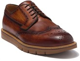 Magnanni Wingtip Medallion Toe Leather Derby