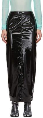 Maison Margiela Black Vinyl Skirt