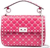 Valentino Pink free Rockstud spike shoulder Bag