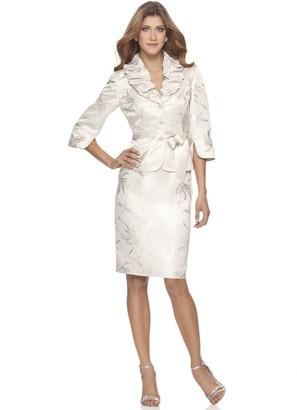 Aidan Mattox Aidan Women's Embroidered Popover Dress