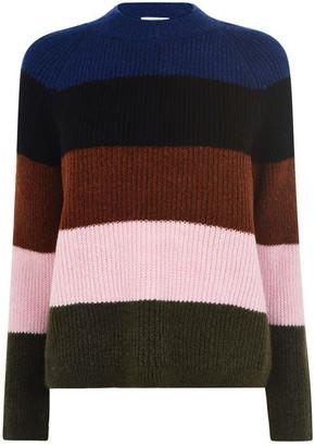Only Jade Stripe Knit Sweater