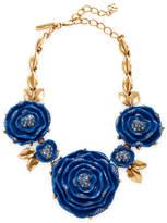 Oscar de la Renta Women's Rose Statement Necklace