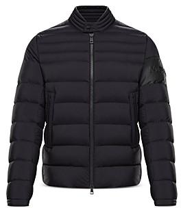 Moncler Aree Down Biker Jacket