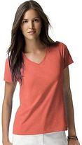 Hanes Women's Nano-T V-Neck T-Shirt Women's Tops