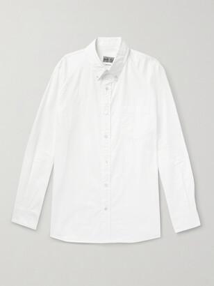 Blue Blue Japan Button-Down Collar Cotton Oxford Shirt