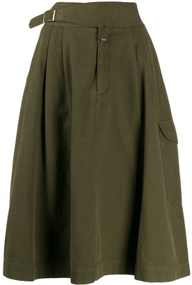 Closed Gerry cargo pocket midi skirt