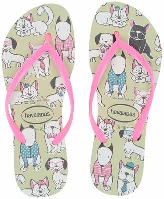 Havaianas Women's Slim Pets Flip Flop Sandal
