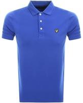 Lyle & Scott Short Sleeved Polo T Shirt Blue