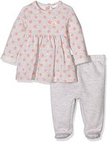 3 Pommes 3Pommes Baby Girls 0-24m Sweet Coral Clothing Set,pack of 2