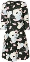 Marni floral shift dress
