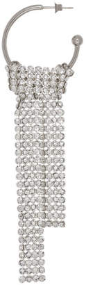 Justine Clenquet Silver Lux Drop Earring