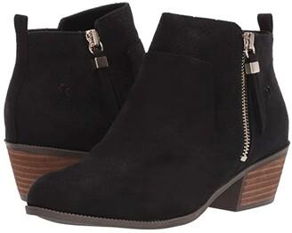 Dr. Scholl's Brianna (Black Microfiber) Women's Boots