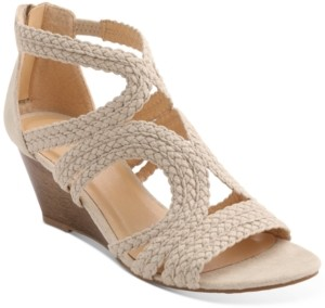 XOXO Sampson Strappy Wedge Sandals Women's Shoes