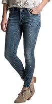 Max Jeans Ankle Zip Jeans - Skinny Fit (For Women)