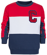 Converse Boys' Colourblock Sweatshirt, Navy