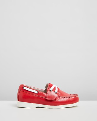 Little Fox Shoes - Red Loafers - Richmond Loafers - Size One Size, 23 at The Iconic