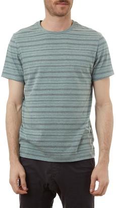 Px Heathered Stripe Crew Neck T-Shirt