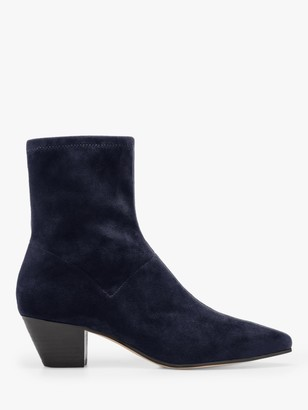 Boden Western Suede Stretch Boots