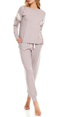 Flora Nikrooz Alexandra Brushed Knit Pajamas