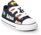 Converse Toddler Boys' Chuck Taylor All Star Batman 80th Anniversary Collaboration Sneakers