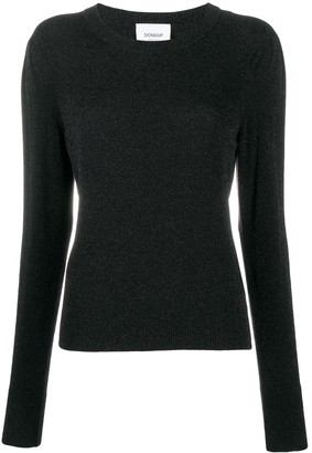 Dondup Long-Sleeved Ribbed Knit Jumper
