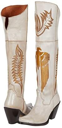 Dan Post Tatum (Off-White) Women's Boots