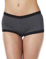 Maidenform Micro Boyshort With Lace